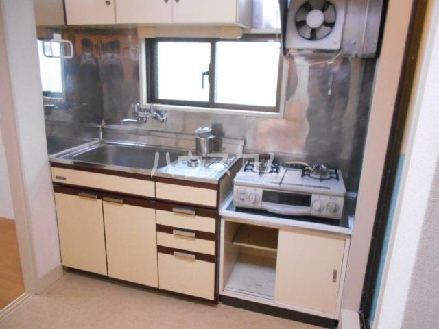 大黒屋ビル 402号室のキッチン