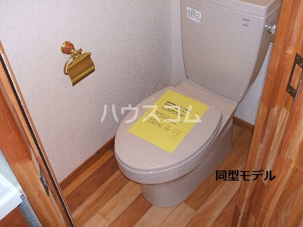 セザンヌ大知波 220号室のトイレ