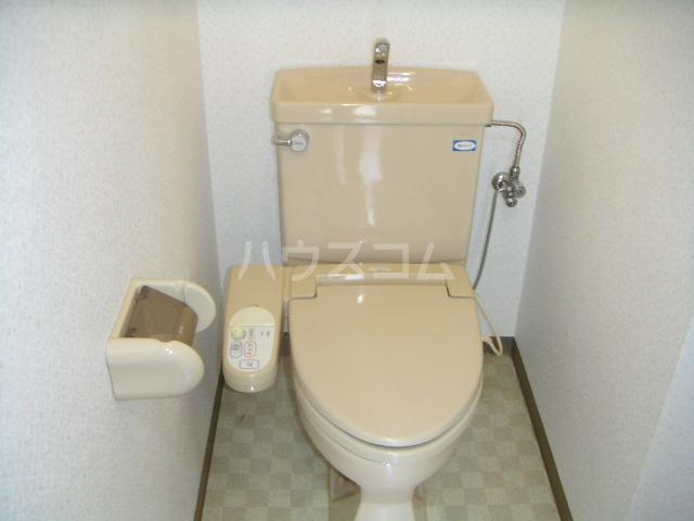 ラ・ポール七番館 206号室のトイレ