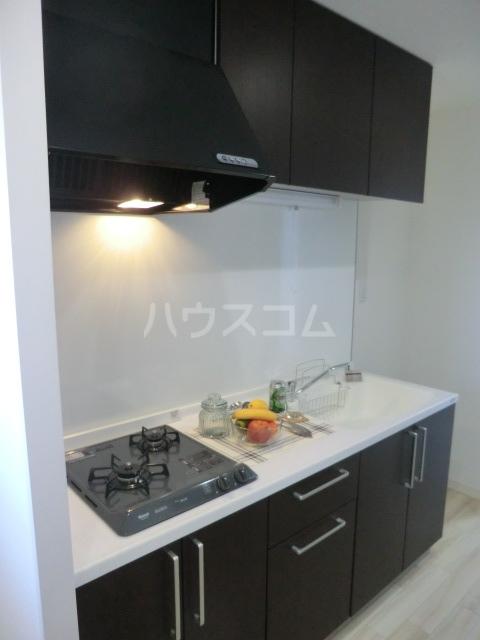 NEXTAGE新橋 201号室のキッチン
