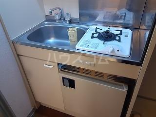 アビタⅡ 202号室のキッチン