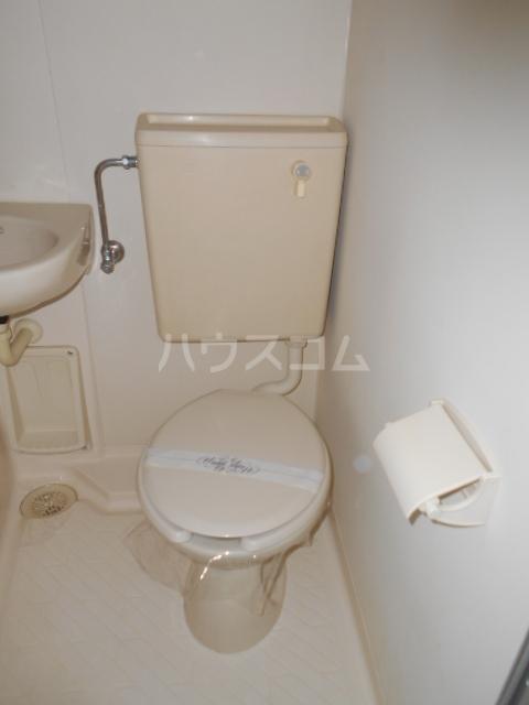 キャピタルⅠ 205号室のトイレ