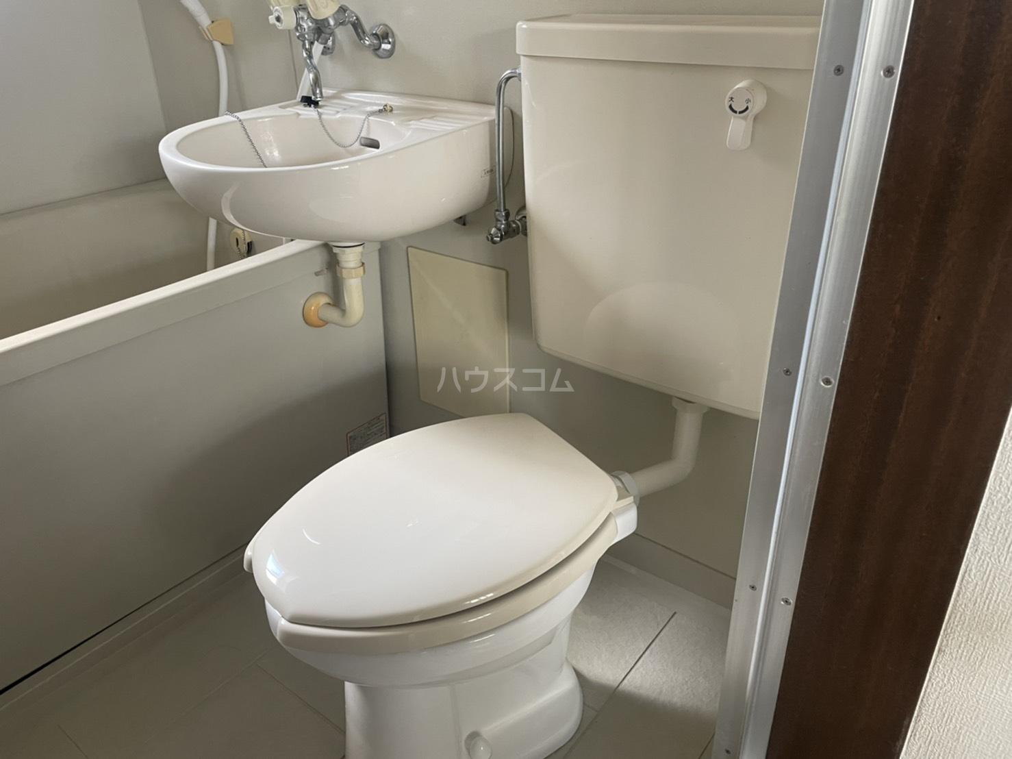 日の出ハイツ 203号室のトイレ