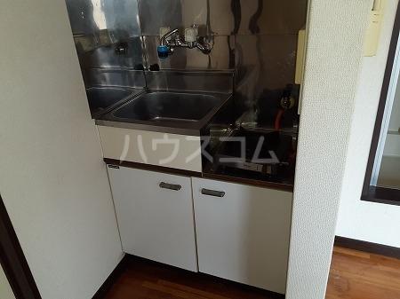 ミユキハイツ 206号室のキッチン