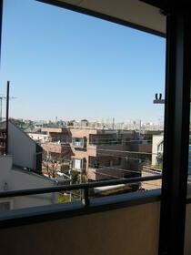 サン・フレグランス 302号室のバルコニー