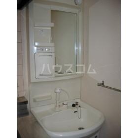 サン・フレグランス 302号室の洗面所