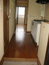 サン・フレグランス 302号室の玄関