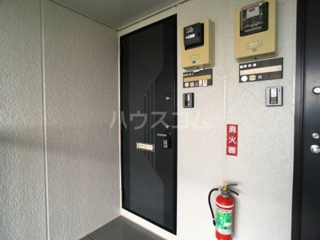フォレスト・ヴィラB 201号室の玄関