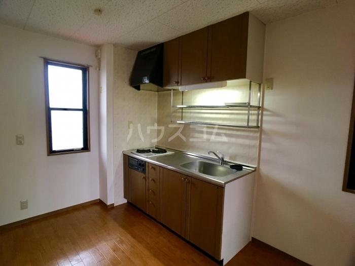 フォレスト・ヴィラB 201号室のキッチン