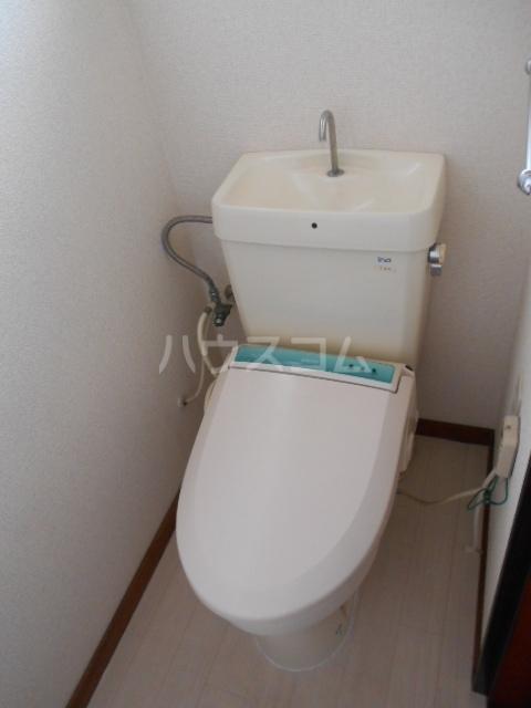 ウチイコーポ 202号室のトイレ