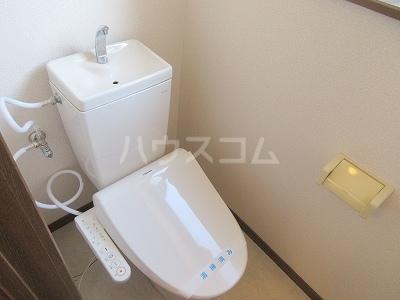 リーヴァスペランツァD 2号室のトイレ