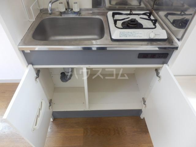 メゾンプレジール 203号室のキッチン