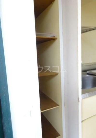 カオパレスNO5 202号室の収納