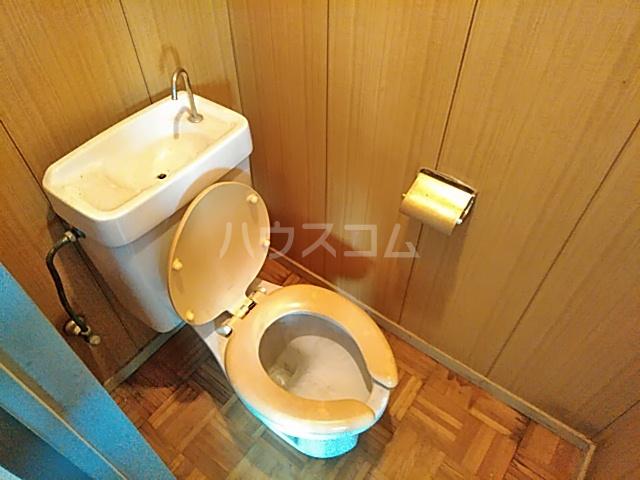 上中条ハイツ 205号室のトイレ