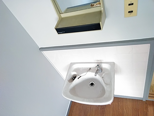 上中条ハイツ 205号室の洗面所