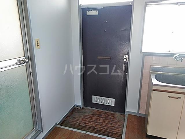 上中条ハイツ 205号室の玄関