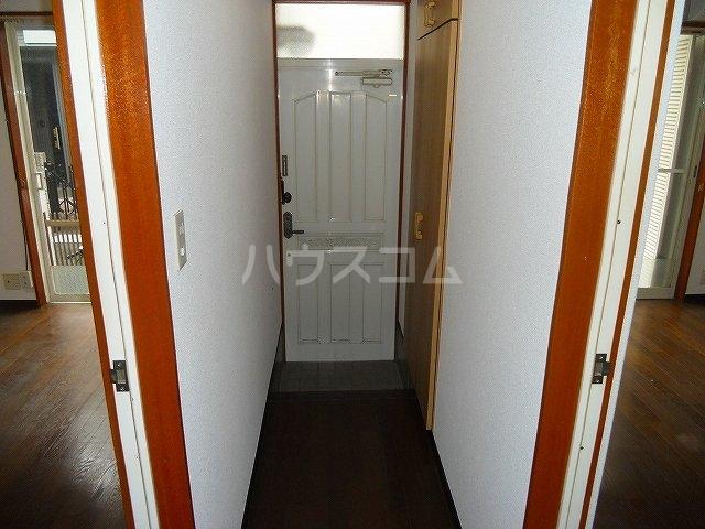 コーポエル朝霞 201号室の玄関