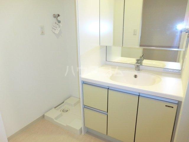 サウンド立石 502号室の洗面所