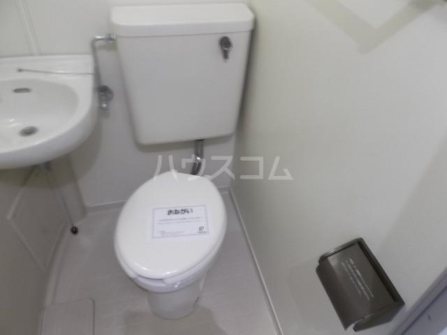 ラ・レジダンス・ド・エトアール 204号室のトイレ