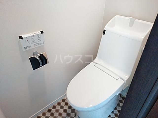 ヒルズ日吉B棟 203号室のトイレ