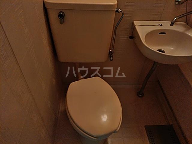 第2ハイツ杉本 307号室のトイレ