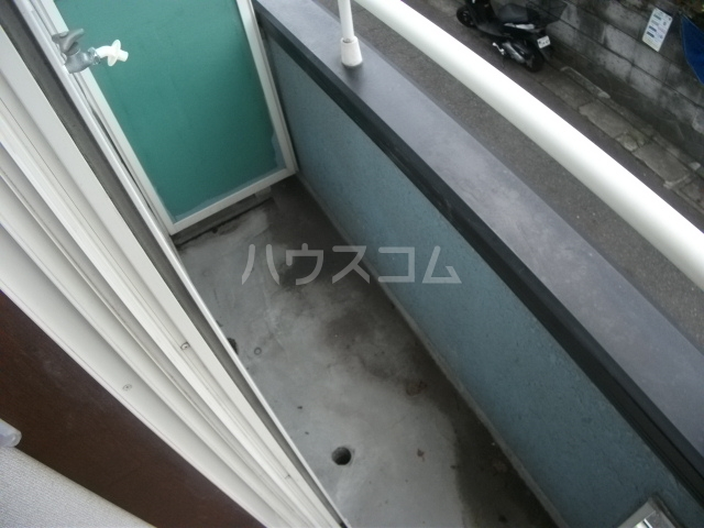 シューコーポ 203号室のバルコニー