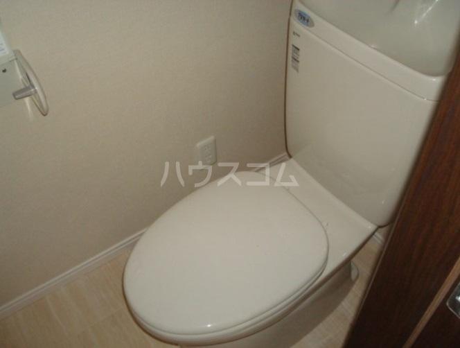 プティカァーネ 102号室のトイレ