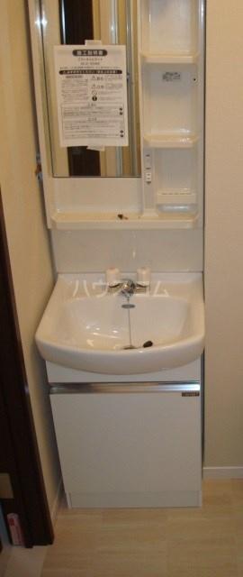 プティカァーネ 102号室の洗面所
