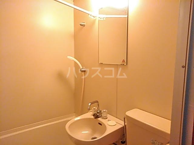 崎山ハイム 202号室の洗面所