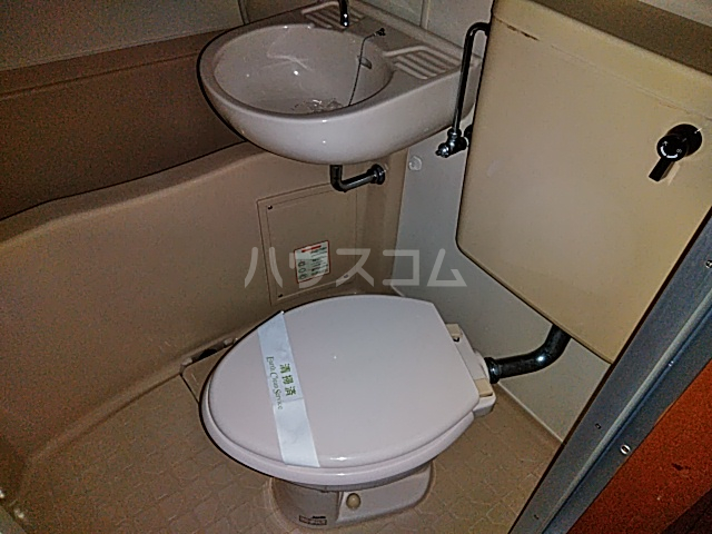 ネオコーポ都 東棟 212号室のトイレ