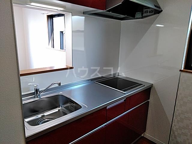 プリムラ夏越 203号室のキッチン