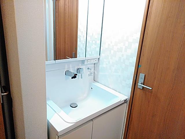 プリムラ夏越 203号室の洗面所