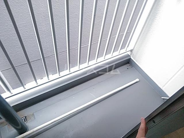 メゾンルミナス 307号室のバルコニー