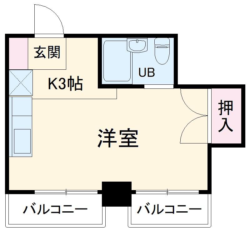 NOAマンション 702号室の間取り