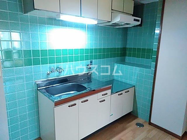 ローズコーポ沢良宜 205号室のキッチン