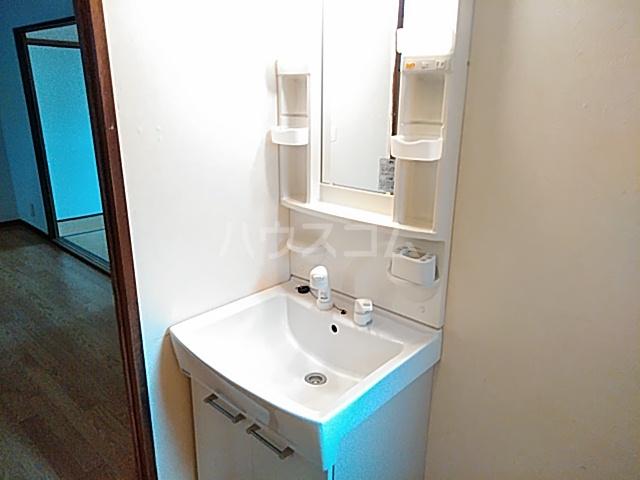 ローズコーポ沢良宜 205号室の洗面所