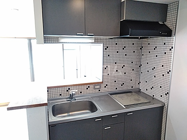 ノースウィング 406号室のキッチン
