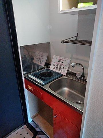 ビー・エスパース 205号室のキッチン