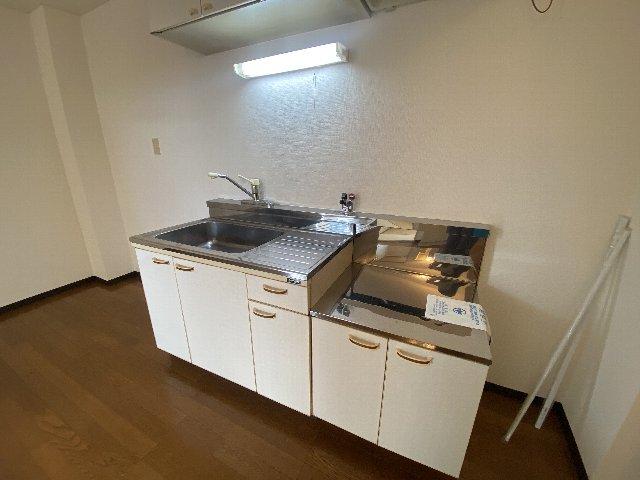 リバティハイツ 202号室のキッチン