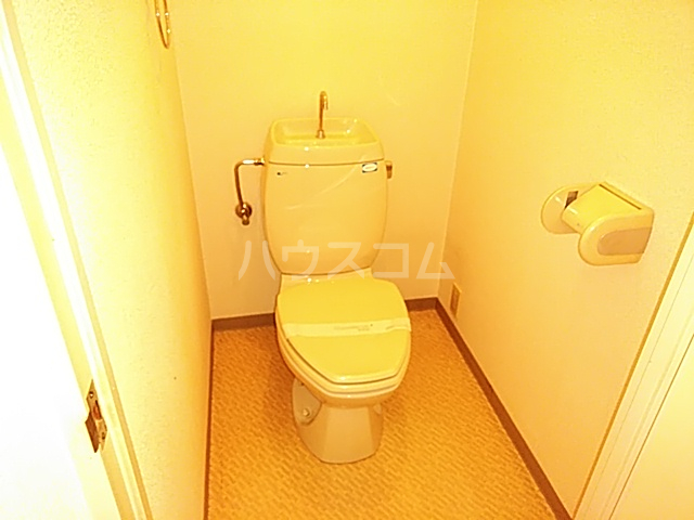 リバティハイツ 202号室のトイレ