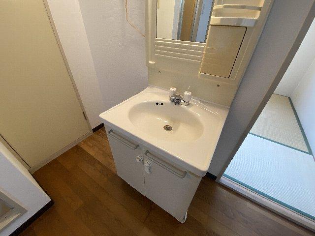 リバティハイツ 202号室の洗面所