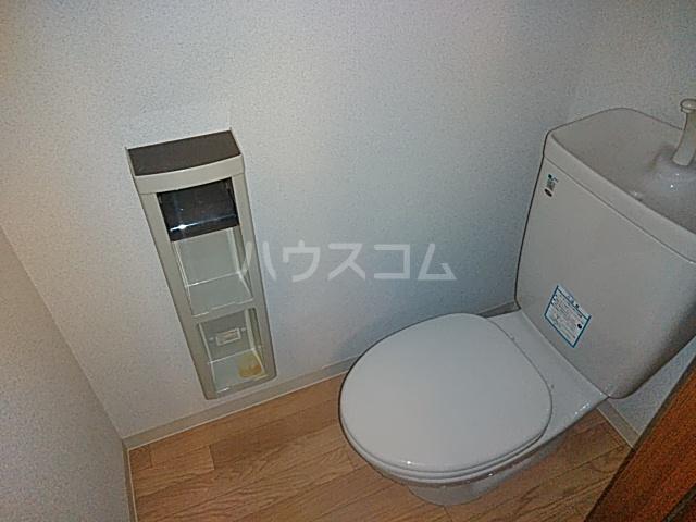 ヤーデンハウス 106号室のトイレ