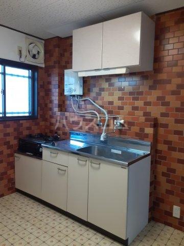 高宮森ビル 202号室のキッチン