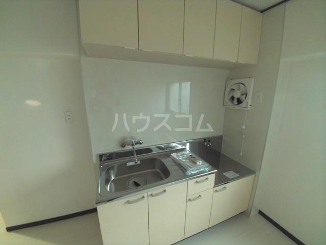 シャンボール岡崎 801号室のキッチン