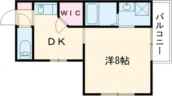 A-1薩摩マンション 101号室の間取り