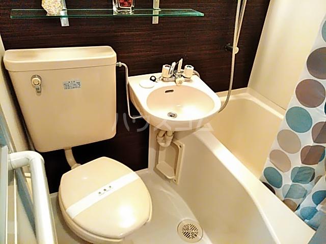 ガルボ茨木 202号室のトイレ