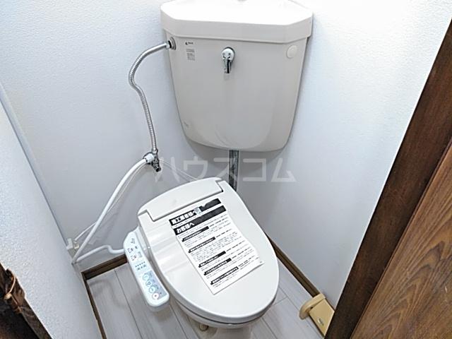 チェリーハイツ 205号室のトイレ