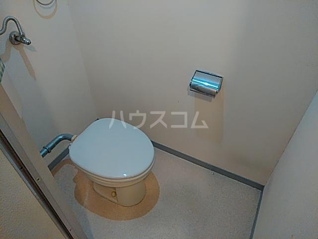 石髙ハイツ 203号室のトイレ