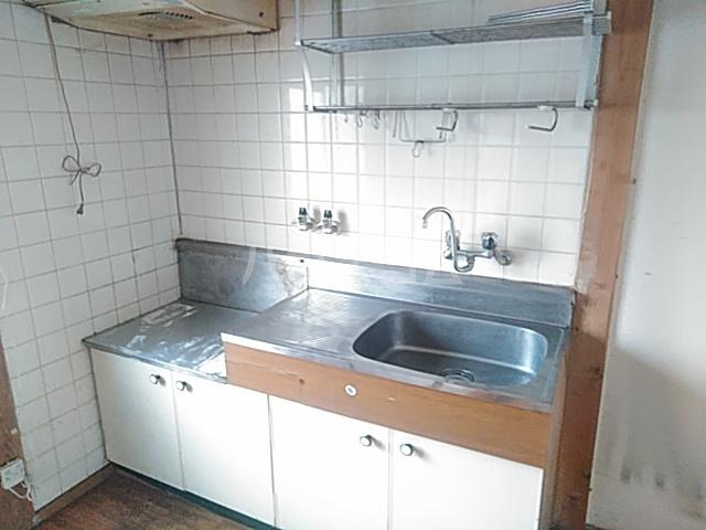 光荘 21号室のキッチン