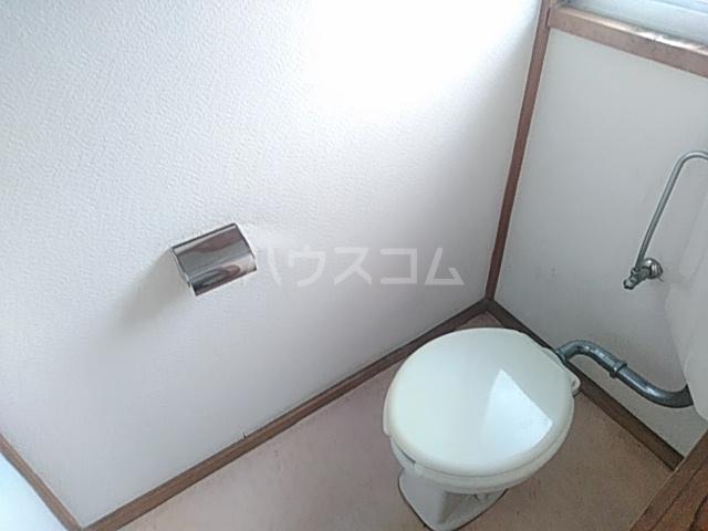光荘 21号室のトイレ
